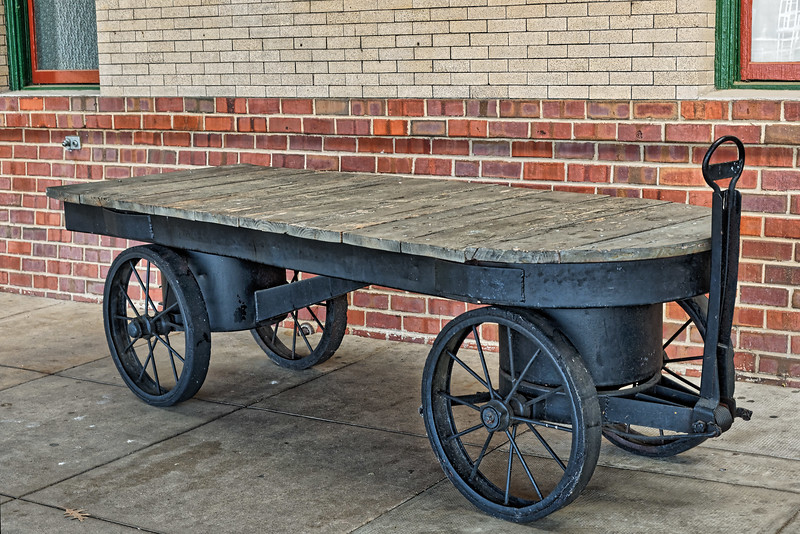 Salisbury Railway Baggage Cart