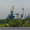 USS North Carolina Across The River