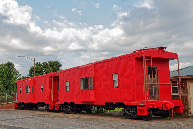 Cabooses in Kings Mountain