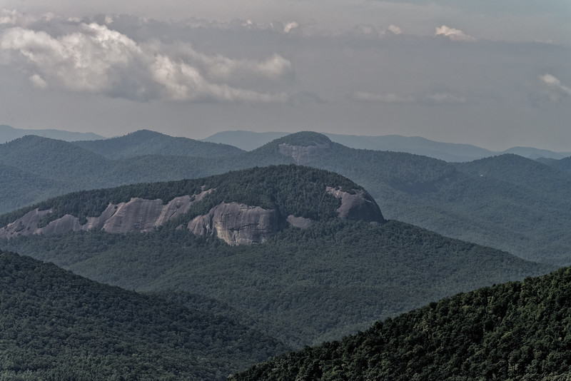 View from The Cradle of Forestry Overlook