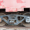 Wheels of Seaboard Railroad Caboose