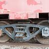 Wheels of Seaboard Railroad Caboose