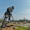 Fayetteville's Iron Mike Statue
