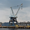 Crane on Wilmington Dock