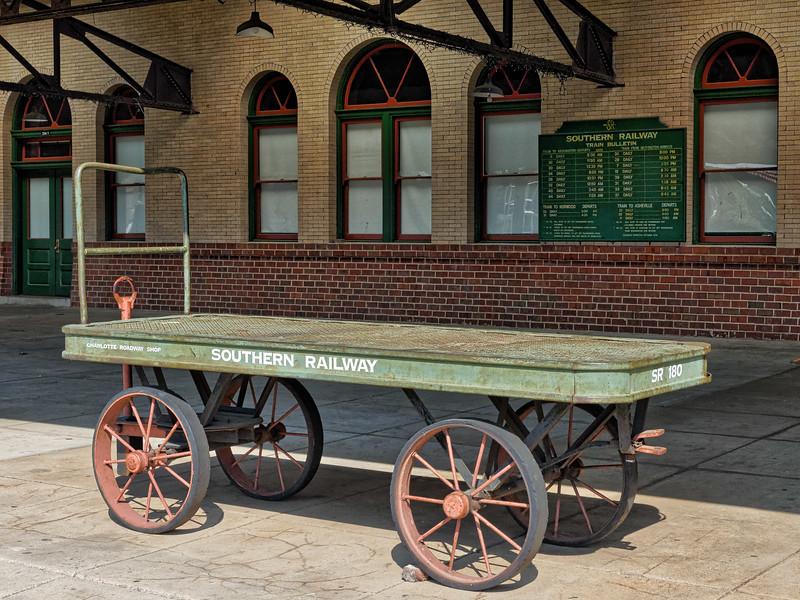 Southern Railway Baggage Cart