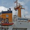 USCGC Elm's Bridge, Mast, and Stack