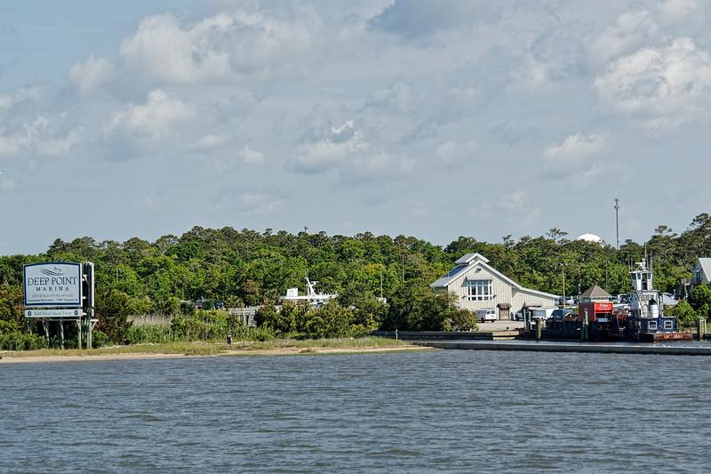 North Carolina Shore near Southport