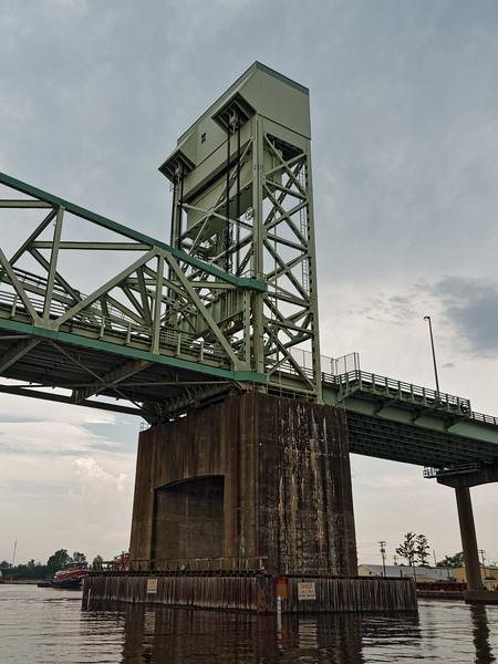 As We Go Under Cape Fear Memorial Bridge