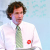 Topsfield:<br /> David Mitchell, teacher at Masconomet High School, and history teacher of the year, conducts one of his classes.<br /> Photo by Ken Yuszkus/Salem News, Friday, March 20, 2009.Topsfield:<br /> David Mitchell, teacher at Masconomet High School, and history teacher of the year, conducts one of his classes.<br /> Photo by Ken Yuszkus/Salem News, Monday, March 23, 2009.