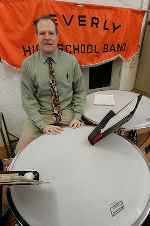 Beverly High School band directory Ray Novack.
