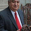 Swampscott:<br /> Ghazi Darkazalli is president of Marian Court. College.<br /> Photo by Ken Yuszkus/Salem News, Friday, March 11, 2010.