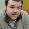 Danvers:<br /> Scott Buchanan, broker/coordinator at the Northeast Arc's Autism Support Center.<br /> Photo by Ken Yuszkus/Salem News, Tuesday, March 9, 2010.
