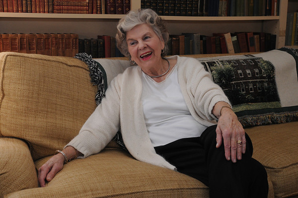 Hamilton:<br /> Joanne Patton at her home.<br /> Photo by Ken Yuszkus/Salem News March 9, 2010.