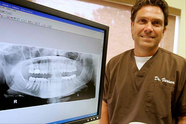 Peabody: Frank T. Varinos, D.M.D., of Varinos Dental Associates. Photo by Mark Lorenz/Salem News