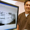 Peabody: Frank T. Varinos, D.M.D., of Varinos Dental Associates. Photo by Mark Lorenz/Salem News