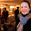 Salem:<br /> Kate Fox, director of the city's tourism office Destination Salem, is at the gift shop at the House of Seven Gables.<br /> Photo by Ken Yuszkus/Salem News, Sunday October 18, 2009.
