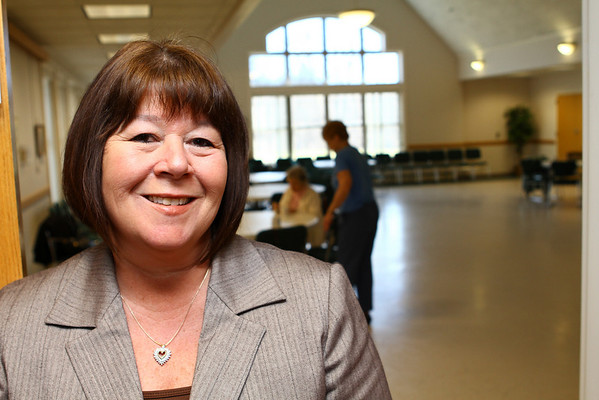 Pamela Parkinson director at the Danvers Senior Center.