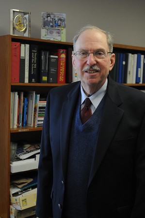 Beverly:<br /> Robert L. Gass is the executive director of the Northshore Education Consortium.<br /> Photo by Ken Yuszkus/Salem News, Tuesday, March 2, 2010.