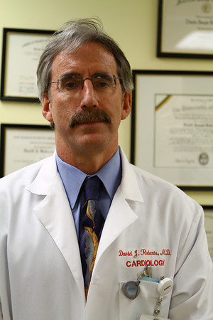 Dr. David Roberts, Chief of Cardiologist Salem Hospital