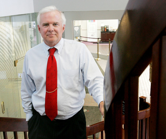 Kevin Bottomley, CEO, Danversbank. For North Shore 100. Photo by Deborah Parker/March 1, 2010.