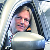 Danvers:<br /> Brian Kelly, of Infiniti automotive.<br /> Photo by Ken Yuszkus/Salem News, Tuesday March 10, 2009.
