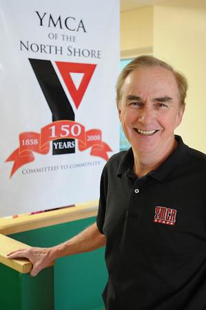 Ipswich:<br /> Gerry Beauchamp is the YMCA director.<br /> Photo by Ken Yuszkus/Salem News, Monday, March 8, 2010.