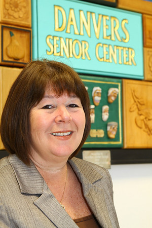 Pamela Parkinson director at the Danvers Senior Center.