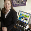 Salem: Kate Fox is the executive director of Destination Salem. <br /> Photo by Linsey Tait/Salem News Thursday, April 17, 2008