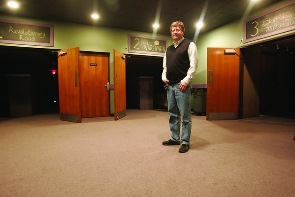 Paul Van Ness, owner of CinemaSalem. Ness started the theater, which hosts Salem Film Festival. Photo by Mark Lorenz