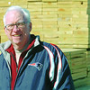 Beverly:<br /> Gerard Moynihan of Moyniham Lumber in Beverly is generous with his time and money for the Moynihan Student-Athlete Award program<br /> Photo by Ken Yuszkus/Salem News, Tuesday, March 24, 2009.Beverly:<br /> Gerard Moynihan of Moynihan Lumber in Beverly is generous with his time and money for the Moynihan Student-Athlete Award program<br /> Photo by Ken Yuszkus/Salem News, Tuesday, March 24, 2009.