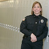 Danvers Juvenile Police Officer, Olivia Silva at the Holten Richmond Middle School.