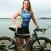 Brandi Dion from B & S Fitness in Salem at Forest River Park in Salem for North Shore 100 Top 5 profile portrait.