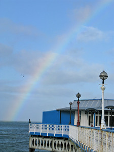 Rainbow - Llandudno Pier - October 2009 049 SM