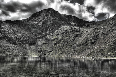Snowdon summit from Glaslyn