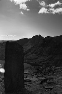 Where the Pyg and Miner's tracks meet on Mt Snowdon