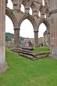 Picture 202 Rievaulx Abbey, August 2002 SM