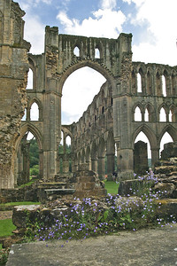 Picture 214 Rievaulx Abbey, August 2002 SM