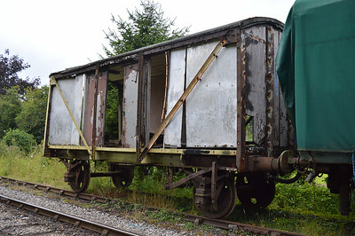 LNER Fishvan 041255 / E75169 at the siding between Pickering and Newbridge Yd.