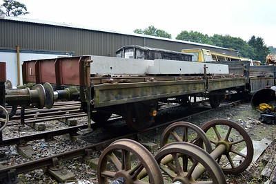 22t Plate Wagon B934280 at Newbridge P-Way Depot.