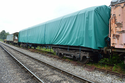 LNER Gresley Corridor 3291 at the siding between Pickering and Newbridge Yd.