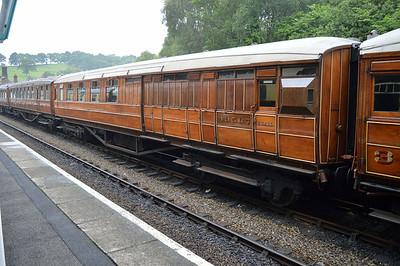 LNER Gresley Brake 43567 at Grosmont Station.