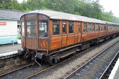 GNR Saloon 43087 at Grosmont Station.