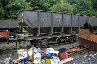 21t Steel Coal Hopper B431861 at Newbridge P-Way Depot.