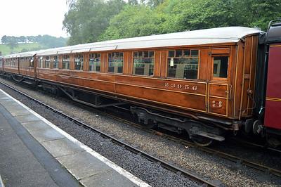LNER Gresley Open 23956 at Grosmont Station.
