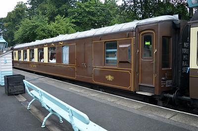 LNER Pullman 99970 Car No79 at Grosmont Station.