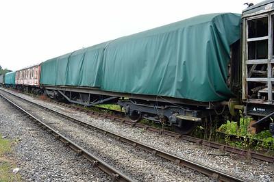 LNER Gresley Open 24109 at the siding between Pickering and Newbridge Yd.