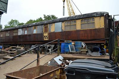 LNER Gresley RF 42969 side 1 at Pickering shed.