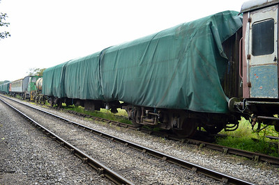 MK1 TSO 5001 at the siding between Pickering and Newbridge Yd.
