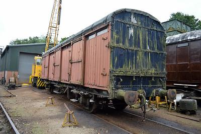 LNER CCT E1322 at Pickering shed.