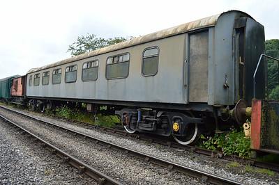 BR Pullman 327 'Garnet' at the siding between Pickering and Newbridge Yd.
